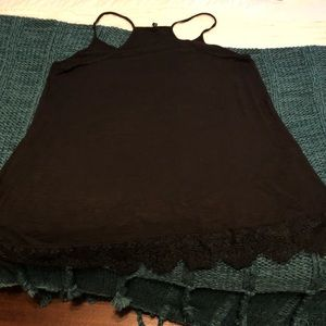 Maurices Black Tank - Size L
